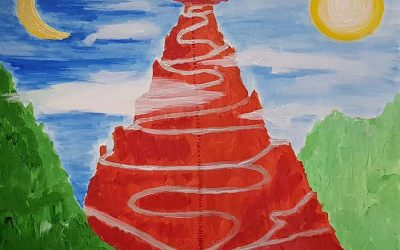 Waar komt de naam het Bergpad vandaan?